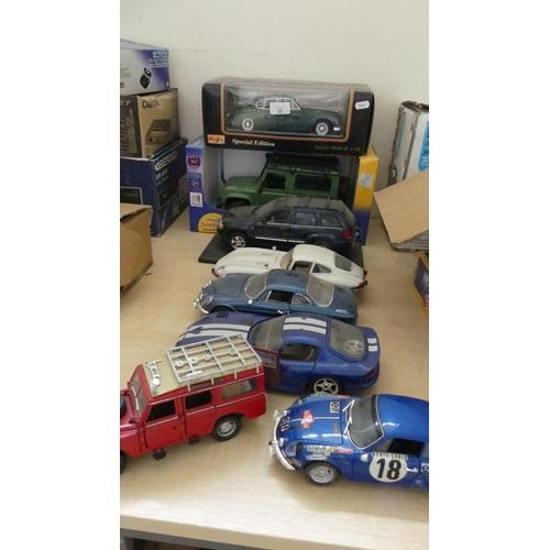 21 - 8 x Collectors Cars