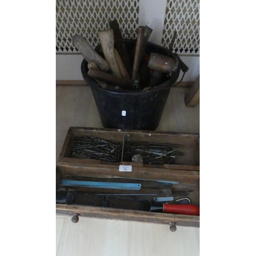 32 - 3 x Boxes Assorted Tools