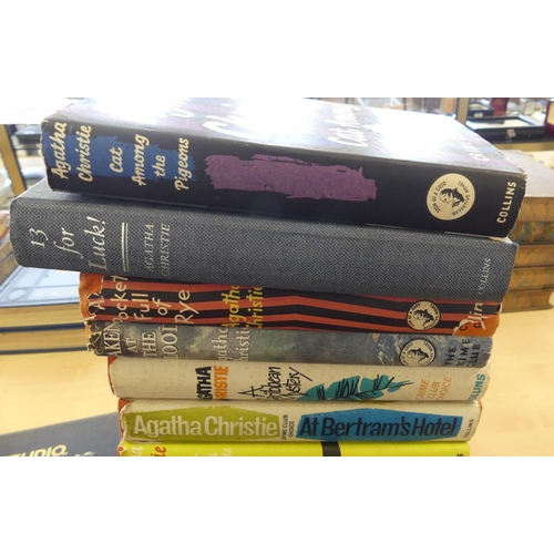 1039 - Seven Early Agatha Christie Novels.