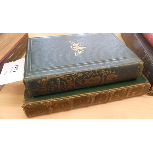 1044 - Two Antique Books - Days of Deer Stalking & The Horse and Hound.