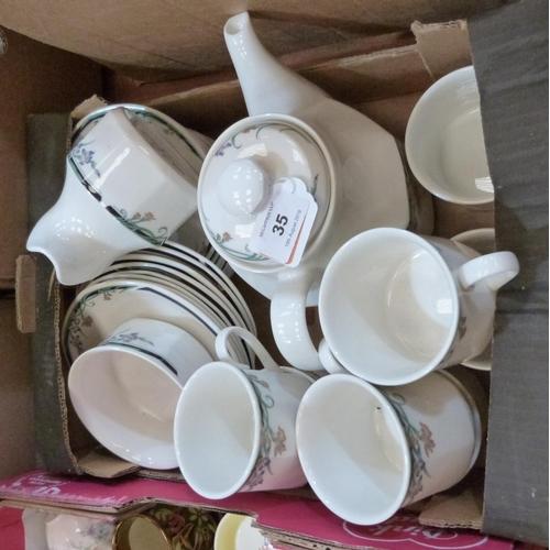 35 - A Royal Doulton 'Juno' tea service of 26 pieces...