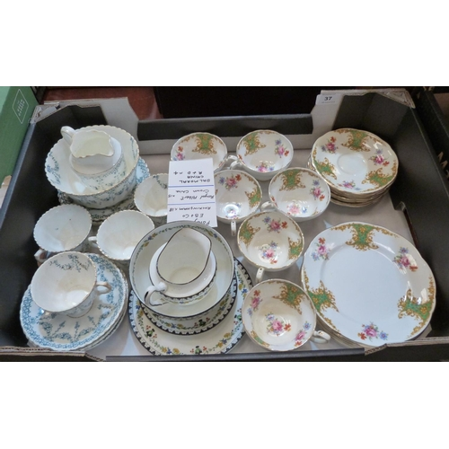 37 - A collection of Foley, Royal Albert and Balmoral...