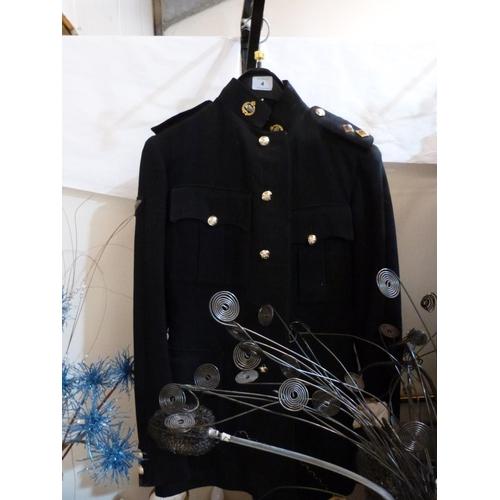 4 - A Royal Tank Regiment uniform...