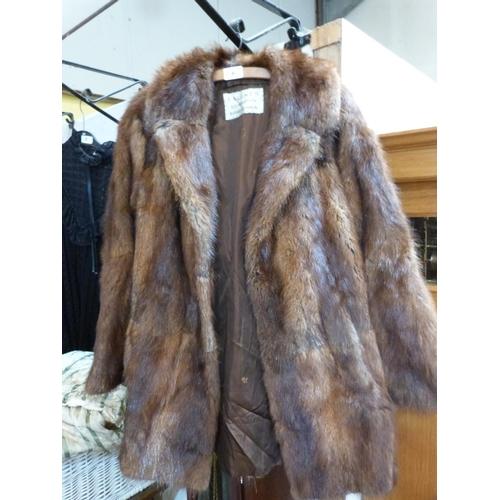 6 - A fur coat...