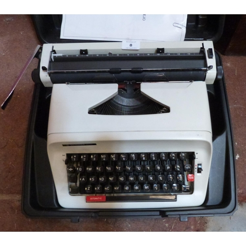 8 - A Typewriter...