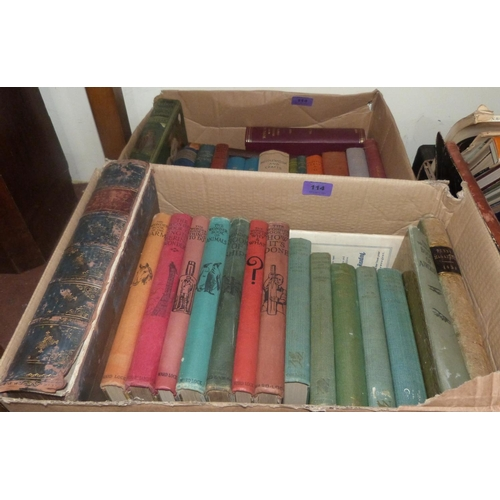 114 - A quantity of books...