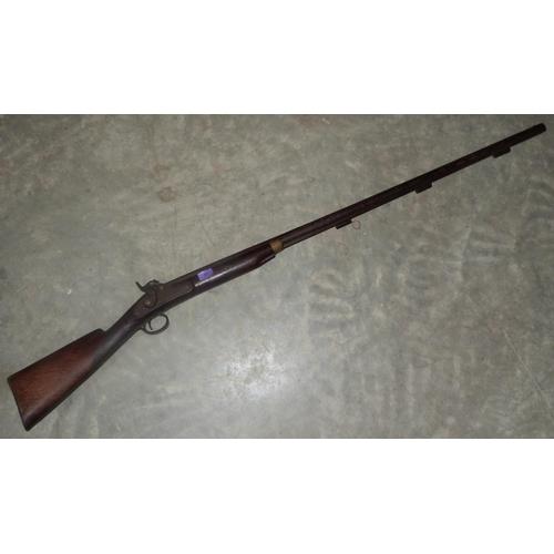 27 - A Victorian percussion duck gun...