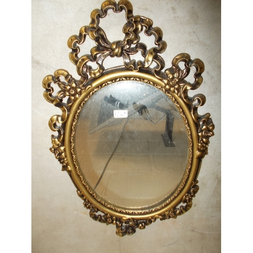 255 - Small Gilt Mirror...