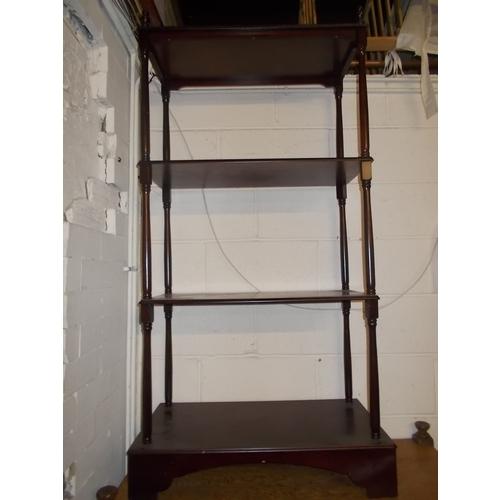 51 - Mahogany Bookcase...