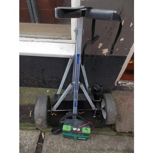 64 - Electric Golf Trolley...