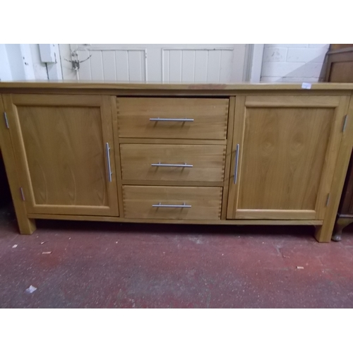66 - Good Quality Oak Sideboard...