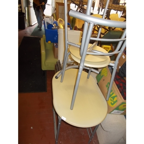 67 - Bistro Table and 2 chairs...