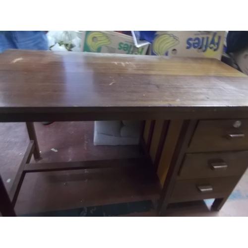 73 - Oak Desk...