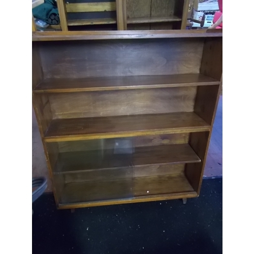 80 - Retro Glazed Bookcase...
