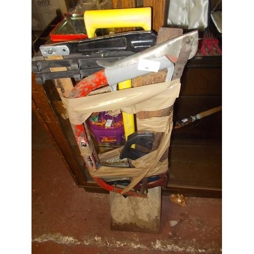 84 - Bundle of tools...
