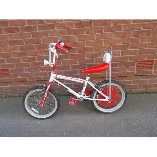 2 - One Direction Red And White Chopper Bike...