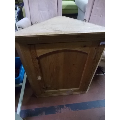 26 - Pine Corner Cabinet...