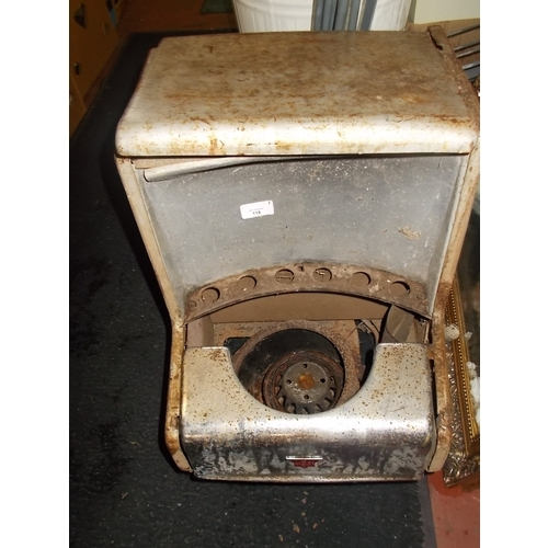 27 - Vintage Sankey Heater...
