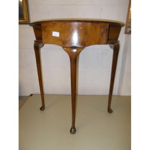 36 - Oak Demi Loom Table...