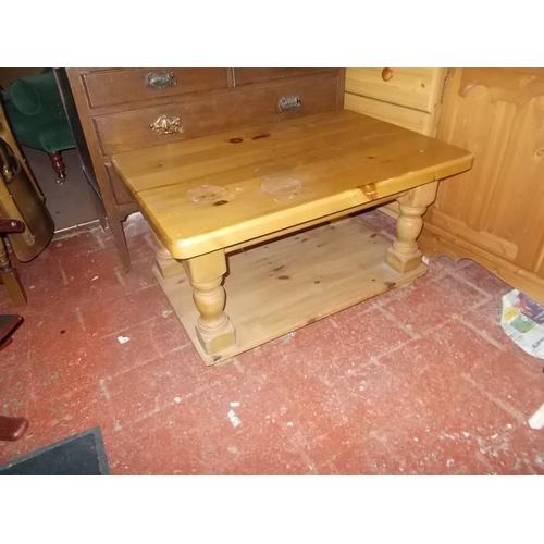 41 - Pine Coffee Table...