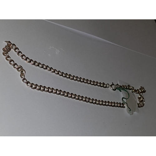 132 - 17g Silver Double Link 16