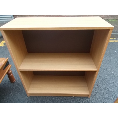139 - Pine Effect Book Case...