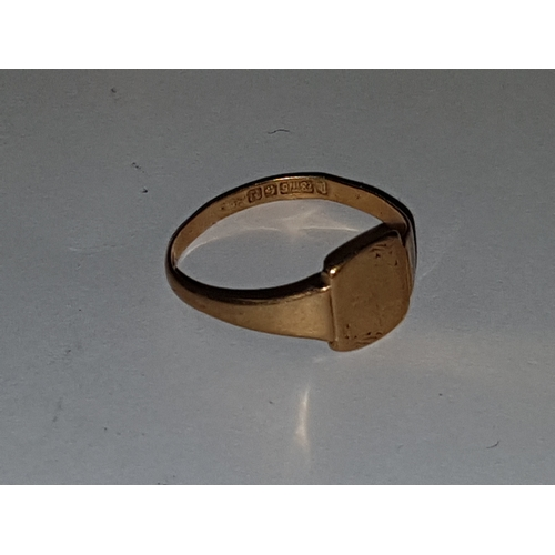 109 - 9ct Gold Ring...