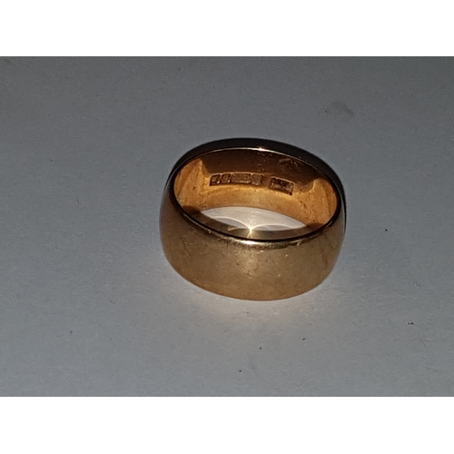 110 - 9ct Gold Wedding Band 5g...