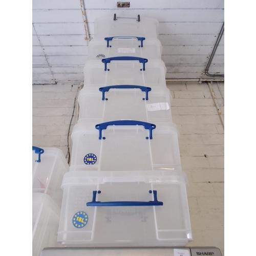 153 - 6 Variuos Storage boxes...