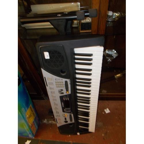 98 - Yamaha  Keyboard with Stand...