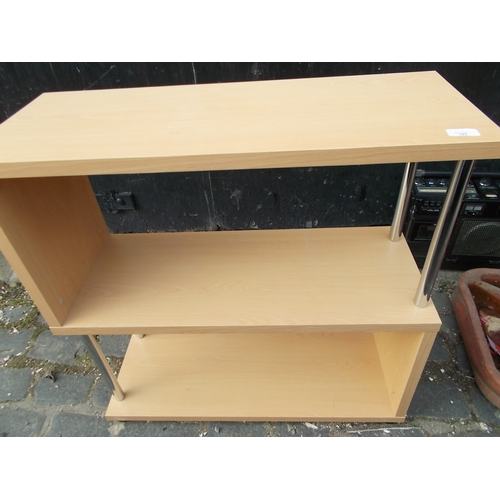 167 - Beech Bookcase...