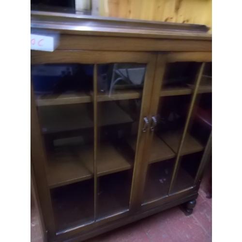 100c - Oak Bookcase...
