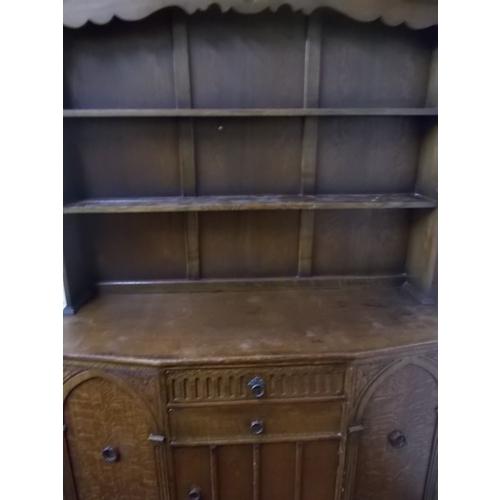 213 - Oak Dresser...
