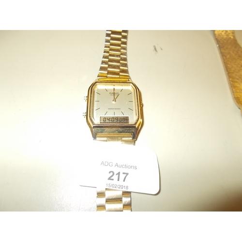 217 - Casio Watch...