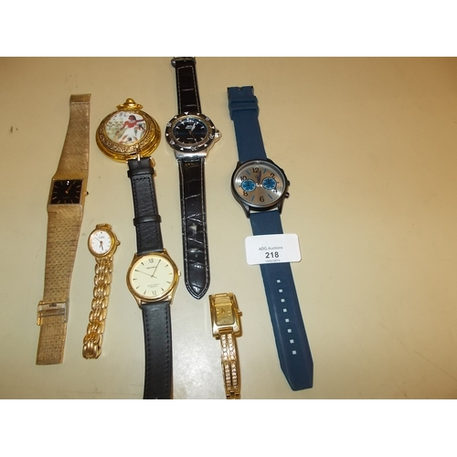 218 - 7 Various watches...