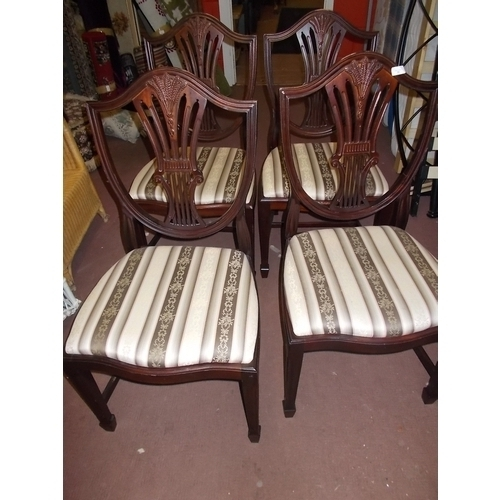 92 - 4 Good Quality Dining Chairs...