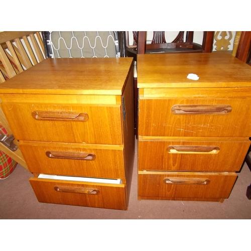 55h - 2 Bedside Cabinets...
