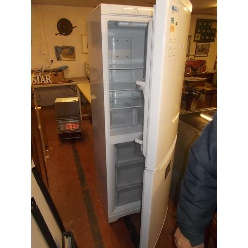 50 - HotPoint Frost Free A Class Fridge Freezer...