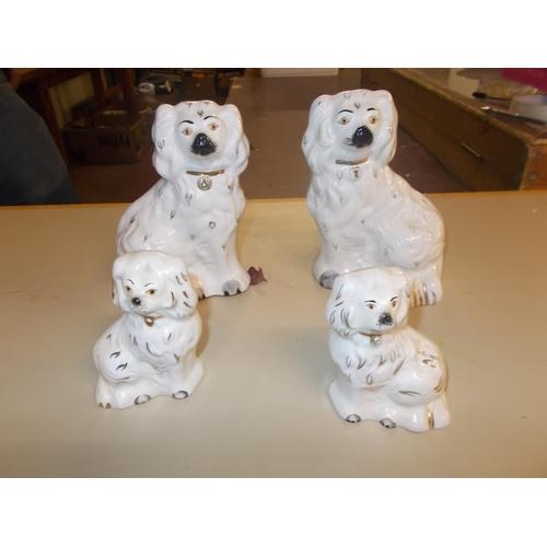 324 - 2 Pairs Beswick Dogs...