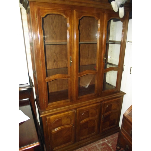 3 - Large Good Quality Display Cabinet...