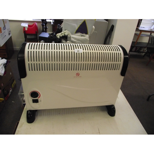 26 - Almost New Electric Heater...