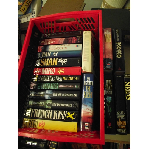 554 - Box of Good quality hard back novels...