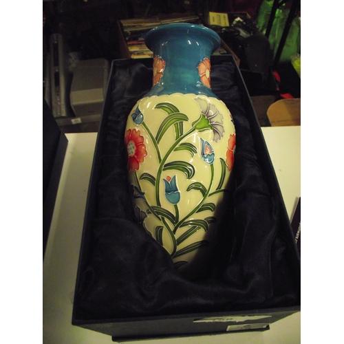 4 - Tupton boxed vase...