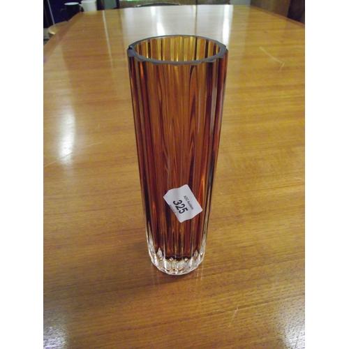 8 - Studio glass Vase...