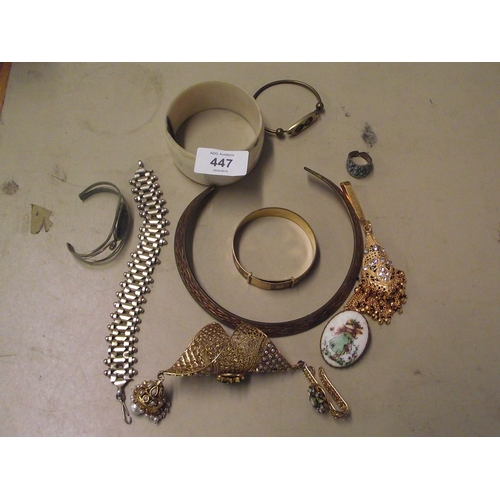 6 - Colection Of Vintage Costume Jewellry...