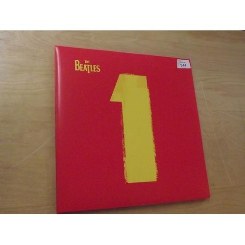 13 - The Beatles No 1 Double Vinyl Album...