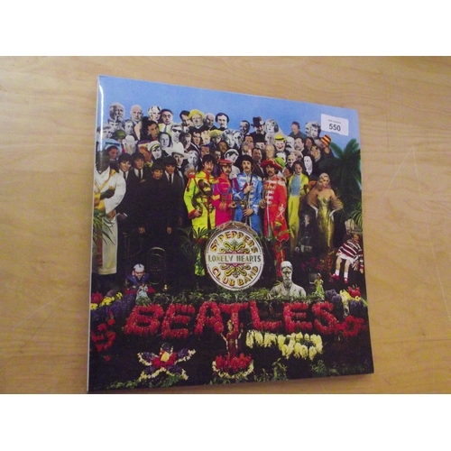 16 - The Beatles SGT Peppers Lonely Hearts Club Band Vinyl Album...