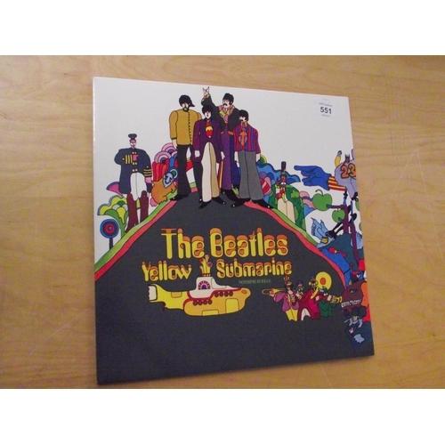 17 - The Beatles Yellow Submarine Vinyl Album...