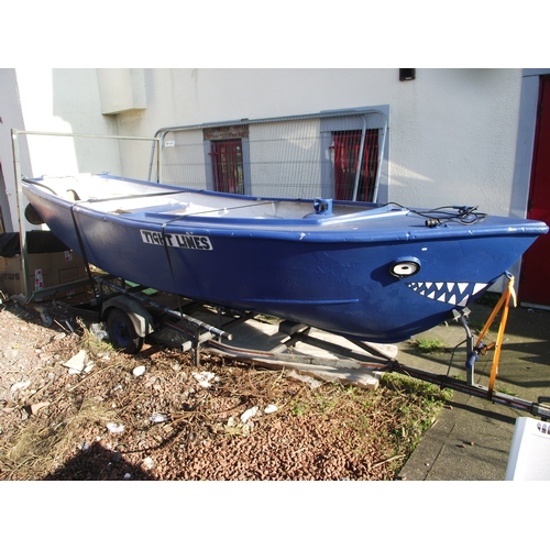19 - 17ft Boat and trailer...