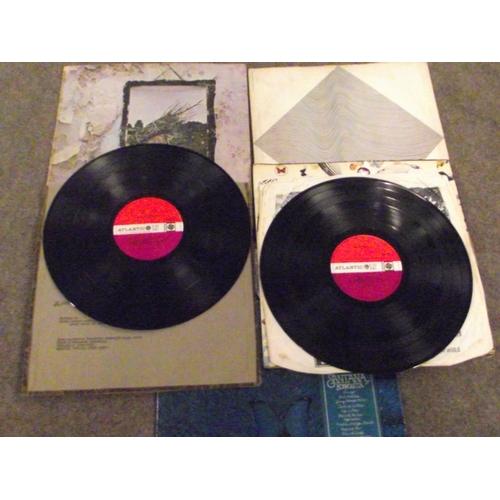 23 - 4 Vinyl Lp's inc Led Zeppelin (red/plum label,Peter Grant credit,matrix PECKO DUCK/PORKY.)Led Zeppel...